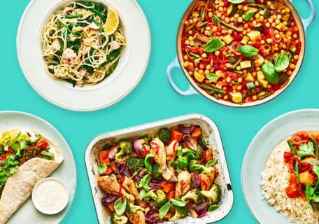 5 family meals for £20 recipe image