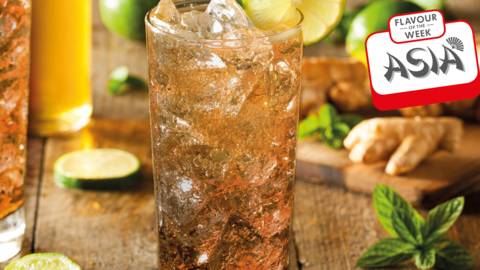 Five-spice dark and stormy