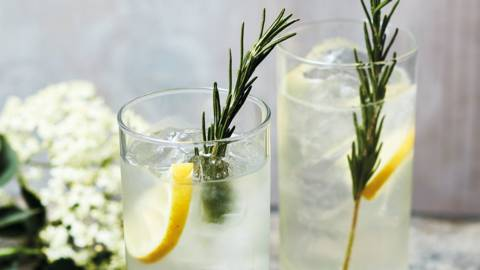 Garden highball