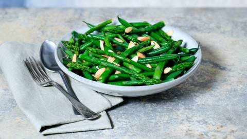 Buttered greens