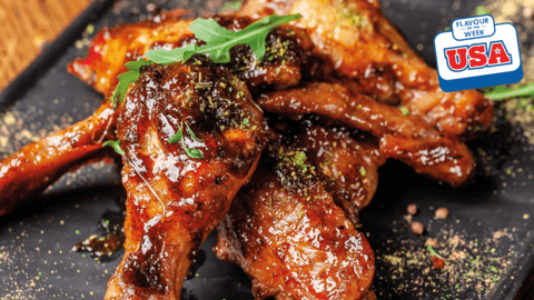 BBQ spicy wings