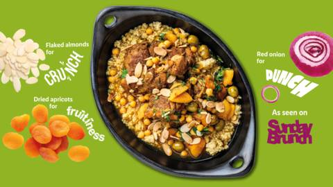 Fruity chicken tagine