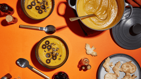 Pumpkin potion soup