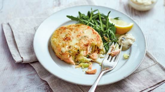 Salmon and haddock fishcakes