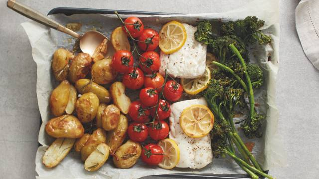 One-pot Roasted Cod