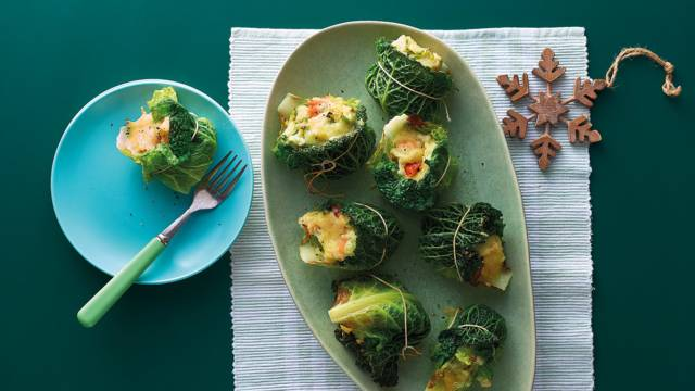 Cabbage and potato parcels image