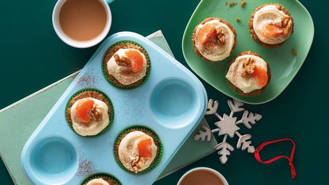 Parsnip and clementine muffins image
