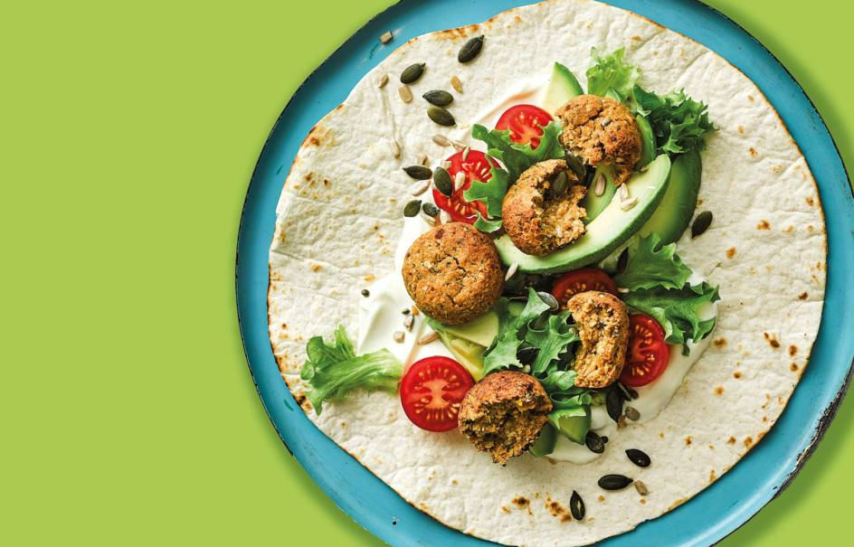 Meat-free recipe collection image