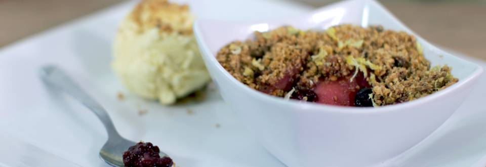 Slow Cooker Crumble