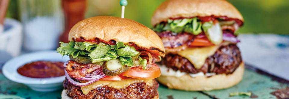 Beef and Bacon Burger