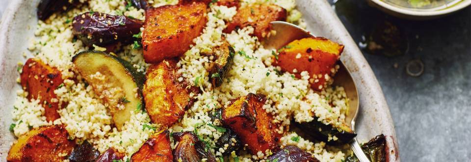 Spiced Roasted Vegetables Couscous